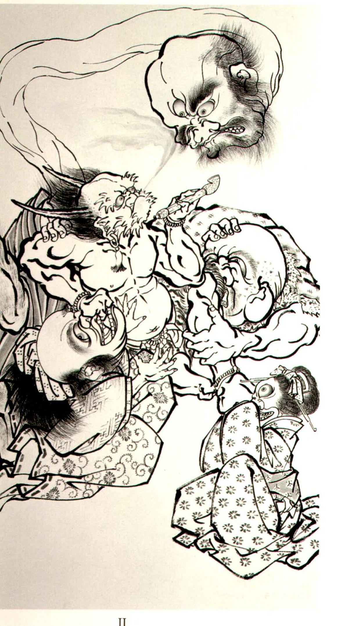 HORIYOSHI III Demons Japanese Tattoo_092