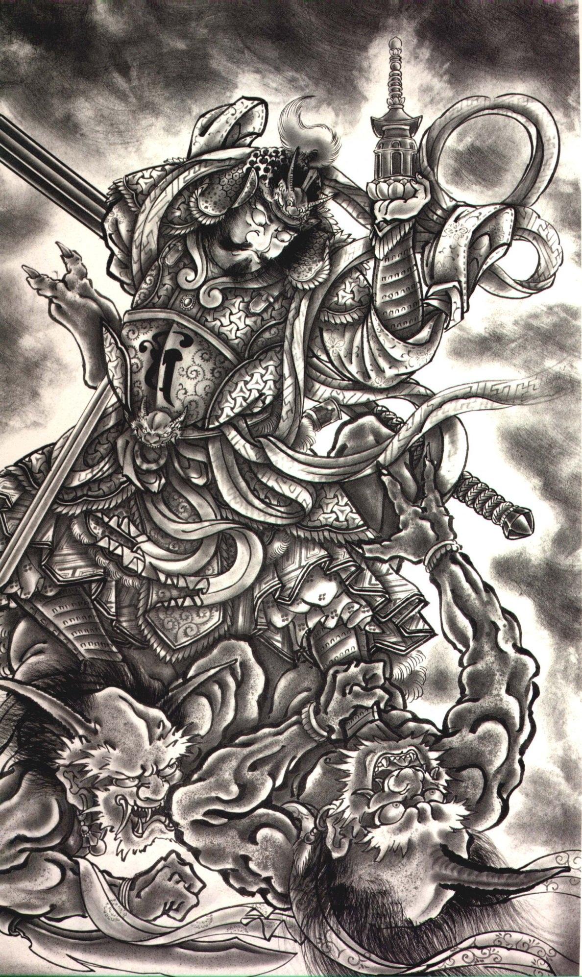 Thetattoocollection Horiyoshi Iii Demons Japanese Tattoo 100 Of 198 Horiyoshi Iii Demons