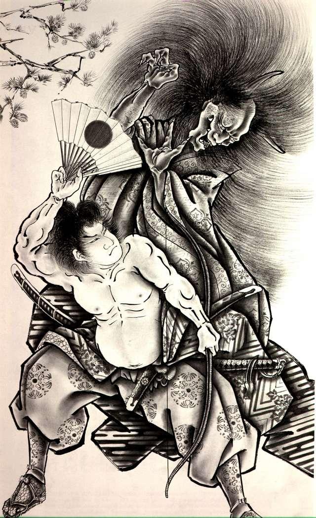 Thetattoocollection Horiyoshi Iii Demons Japanese Tattoo